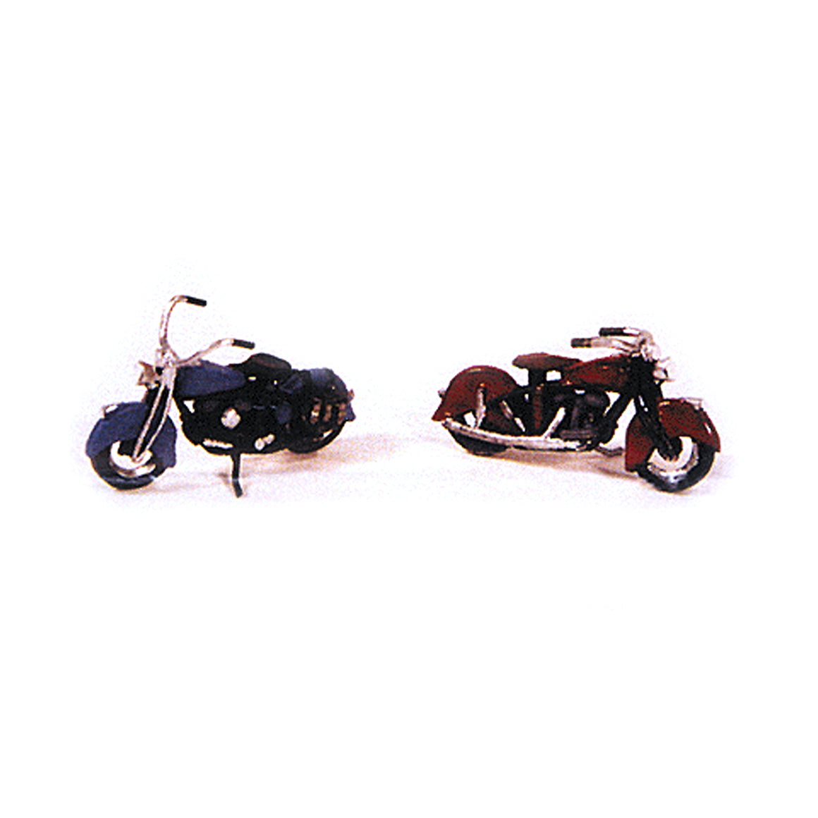 HO Scale: Classic 1947 Motorcycles - 2 Pack - Kit