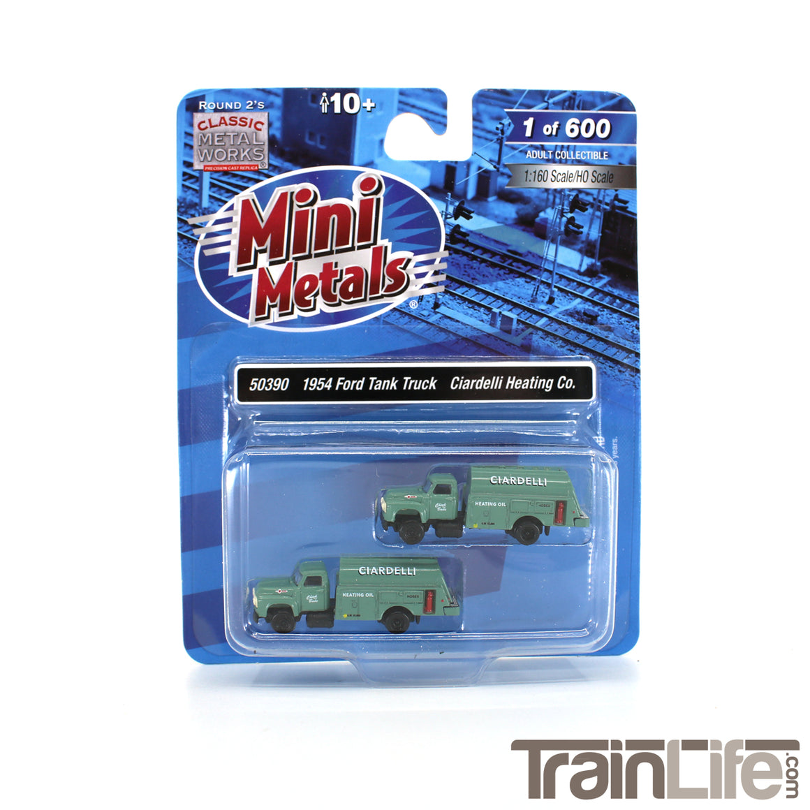 N Scale: 1954 Ford Tank Truck - Ciardelli Heating Co. - 2 Pack