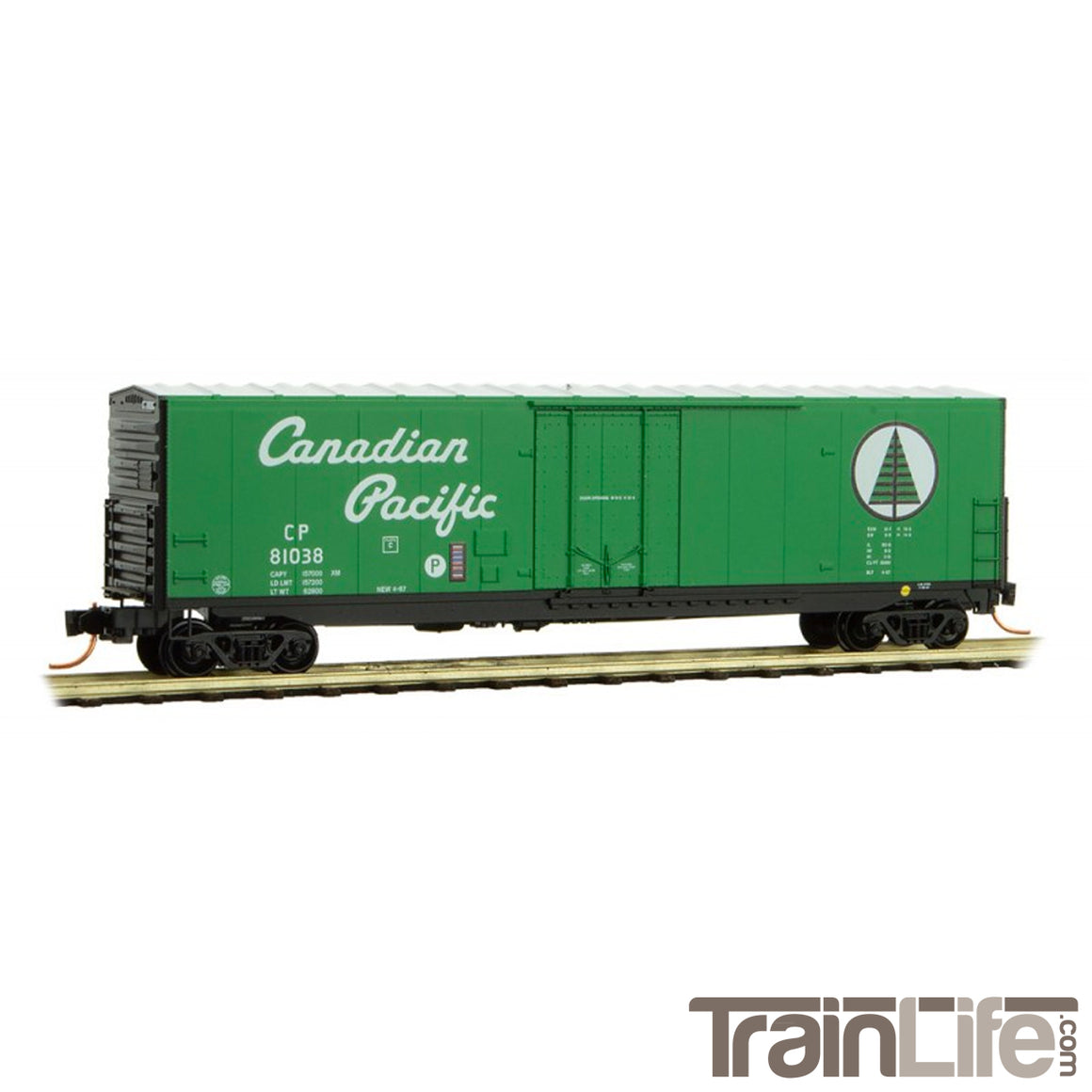 N Scale: 50' Standard Boxcar - CP