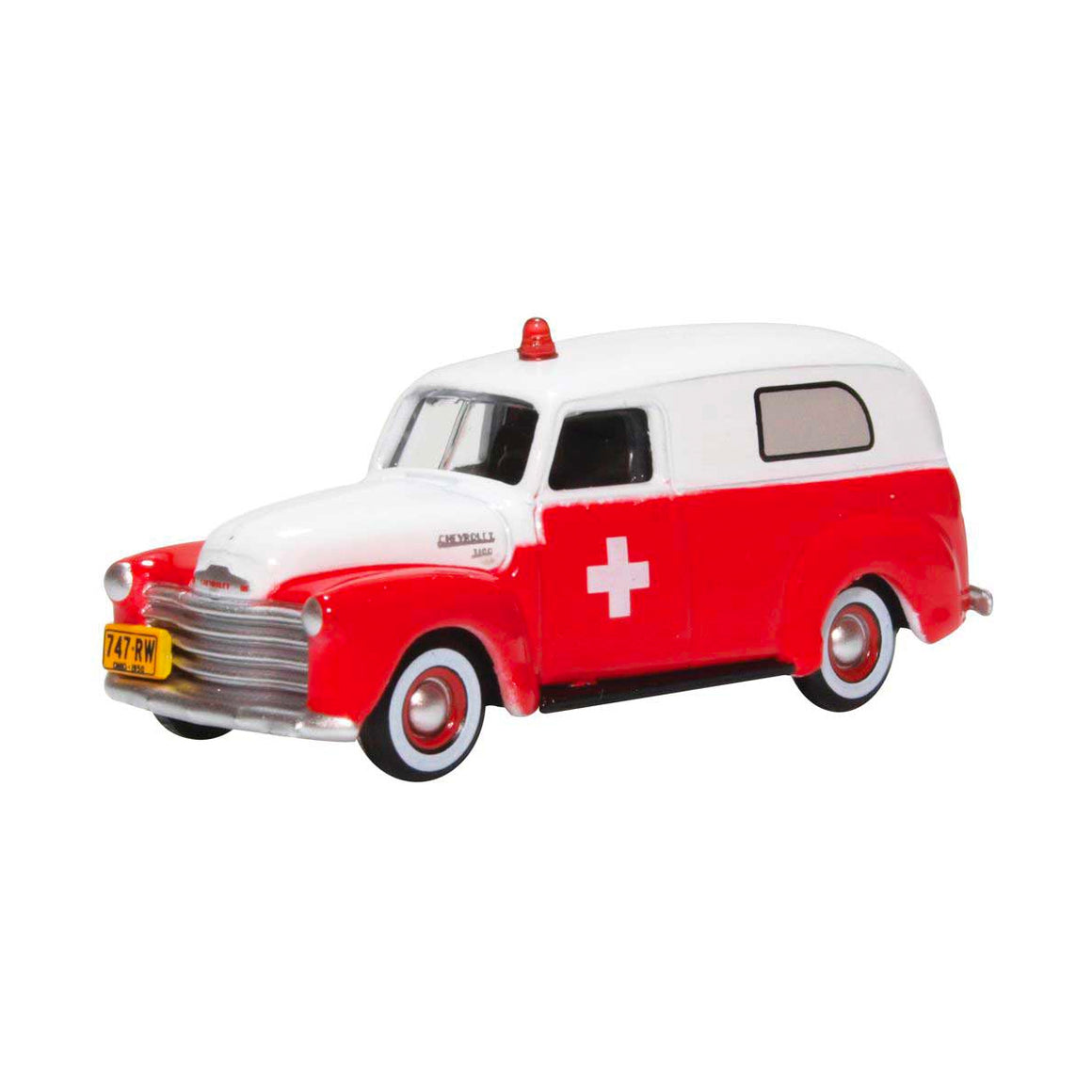 HO Scale: 1950 Chevrolet Panel Van - Ambulance