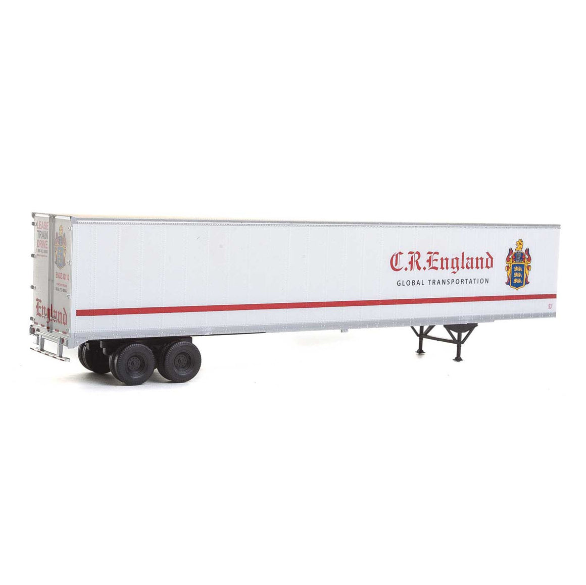 HO Scale: 53' Stoughton Trailer - CR England - 2 Pack