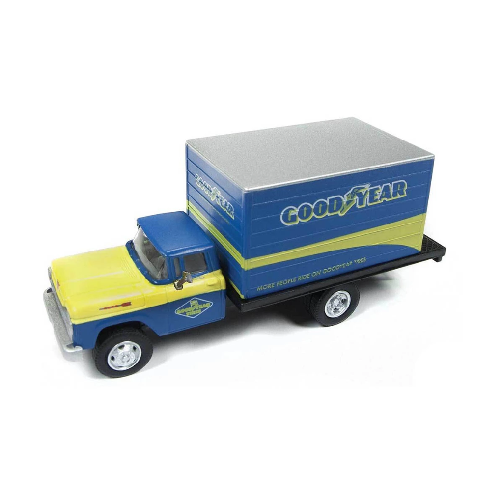 HO Scale: 1960 Ford F-500 Box-Body Delivery Truck - Good Year