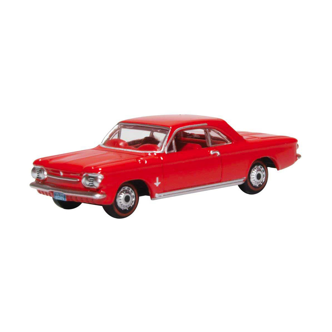 HO Scale: 1963 Chevrolet Corvair Coupe - Riverside Red