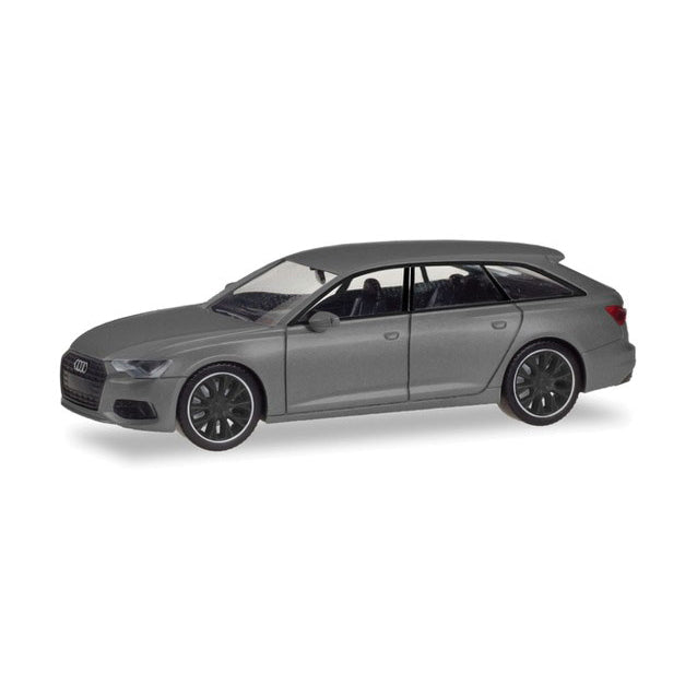 HO Scale: Audi A4 Avant - 'Black Edition' - Grey