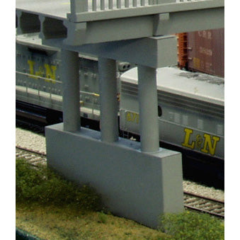HO Scale: Highway Pier - Kit