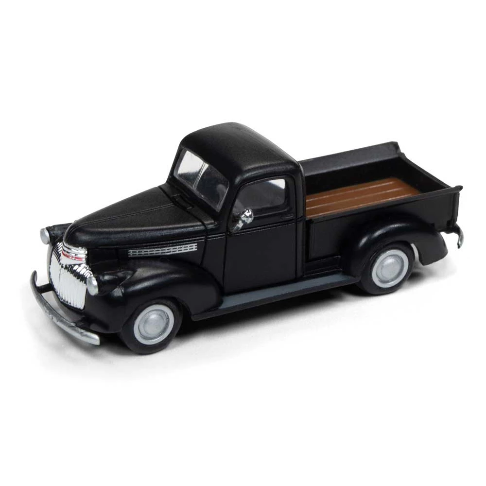 HO Scale: 1941-46 Chevy Pickup Truck - Black