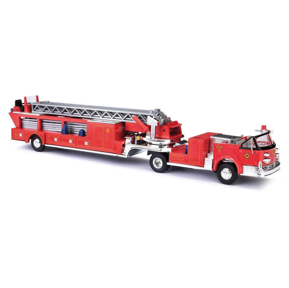 HO Scale: 1968 American-LaFrance Fire Hook and Ladder Truck w/ Open Cab