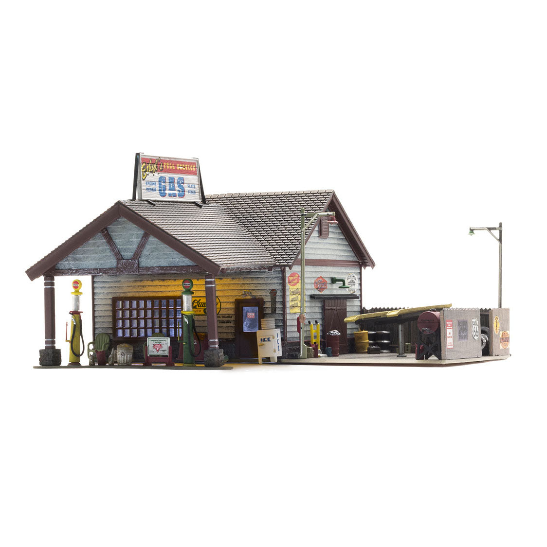 HO Scale: Ethyl's Gas & Service