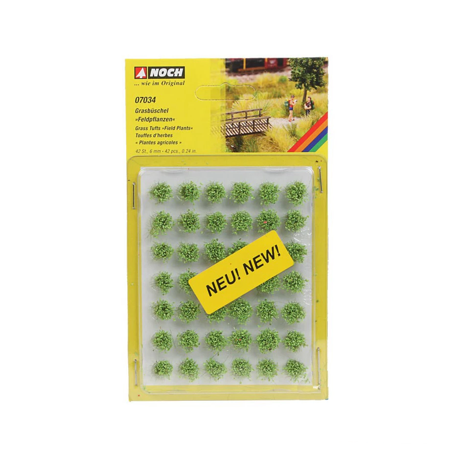 "Grass Tufts - 1/4"" - 42 Packs"