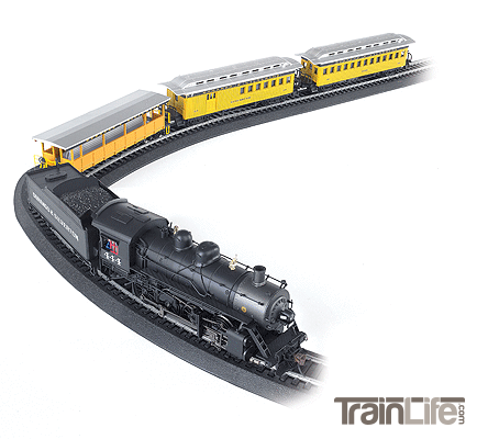 N Scale: Durango & Silverton - Train Set