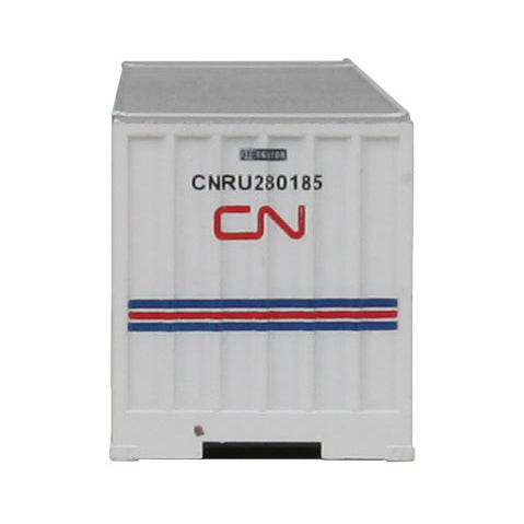 N Scale: 48' Ribbed Side Container - Canadian National