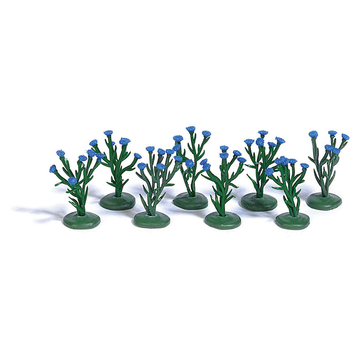 HO Scale: Cornflowers