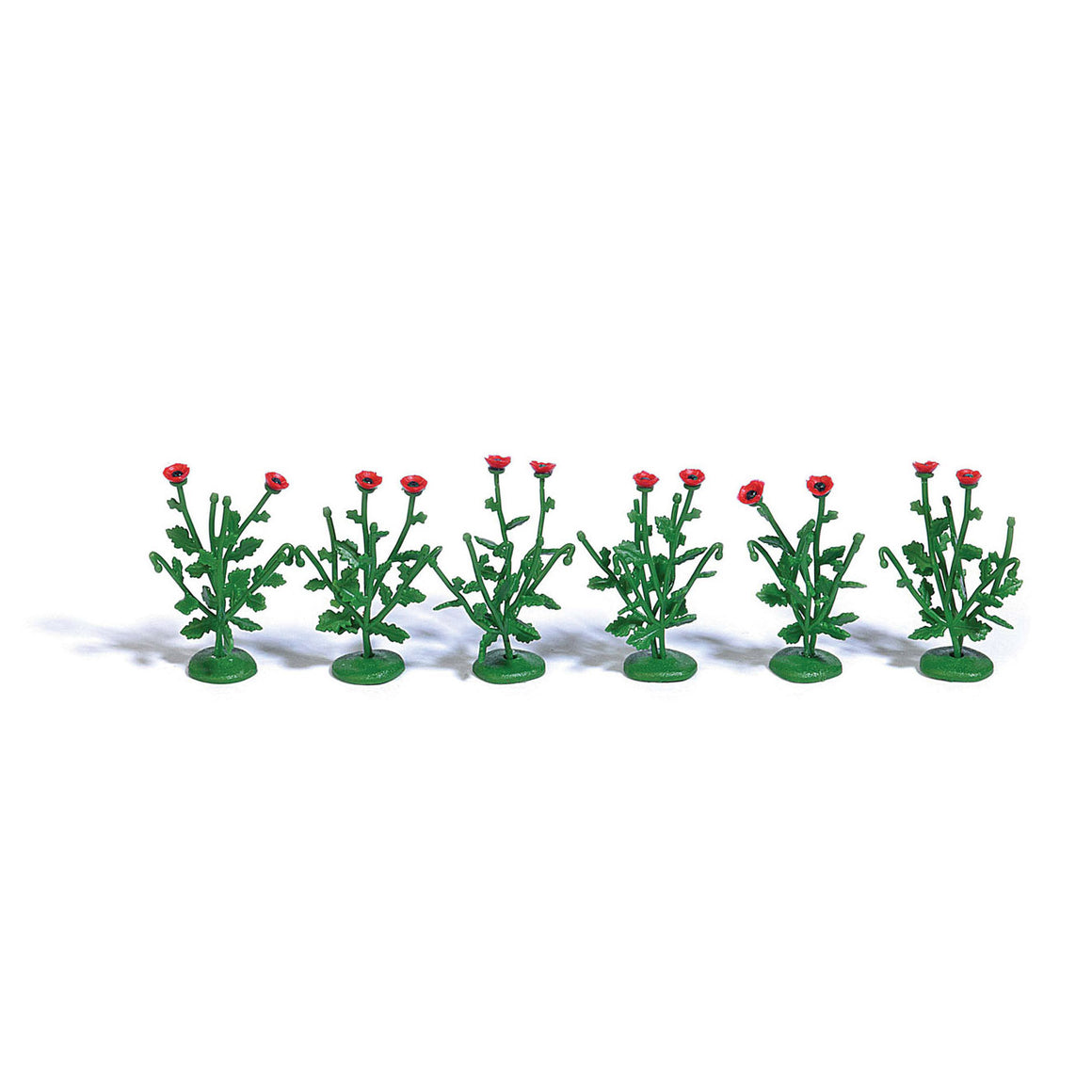 HO Scale: Poppy Plants