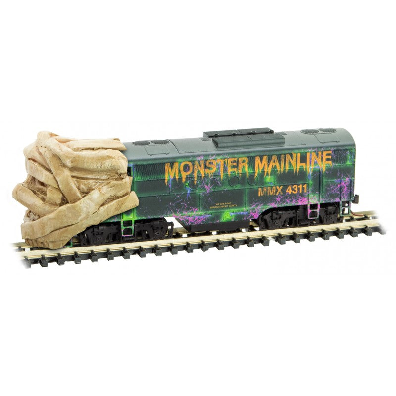 N Scale: Monster Mainline Halloween Train Set