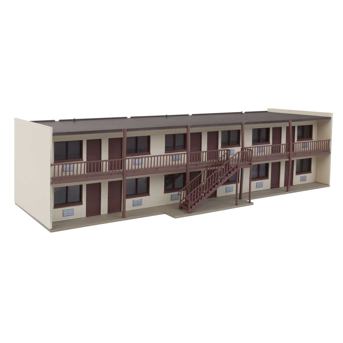 HO Scale: Vintage Motor Hotel with Office and Restaurant - Kit