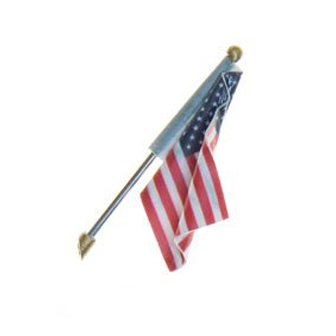 HO Scale: Just Plug® U.S. Flag - Wall Mount