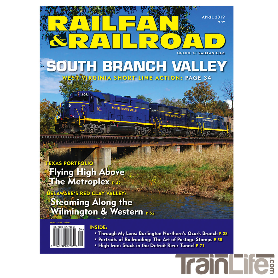 Magazine: Railfan & Railroad - April 2019