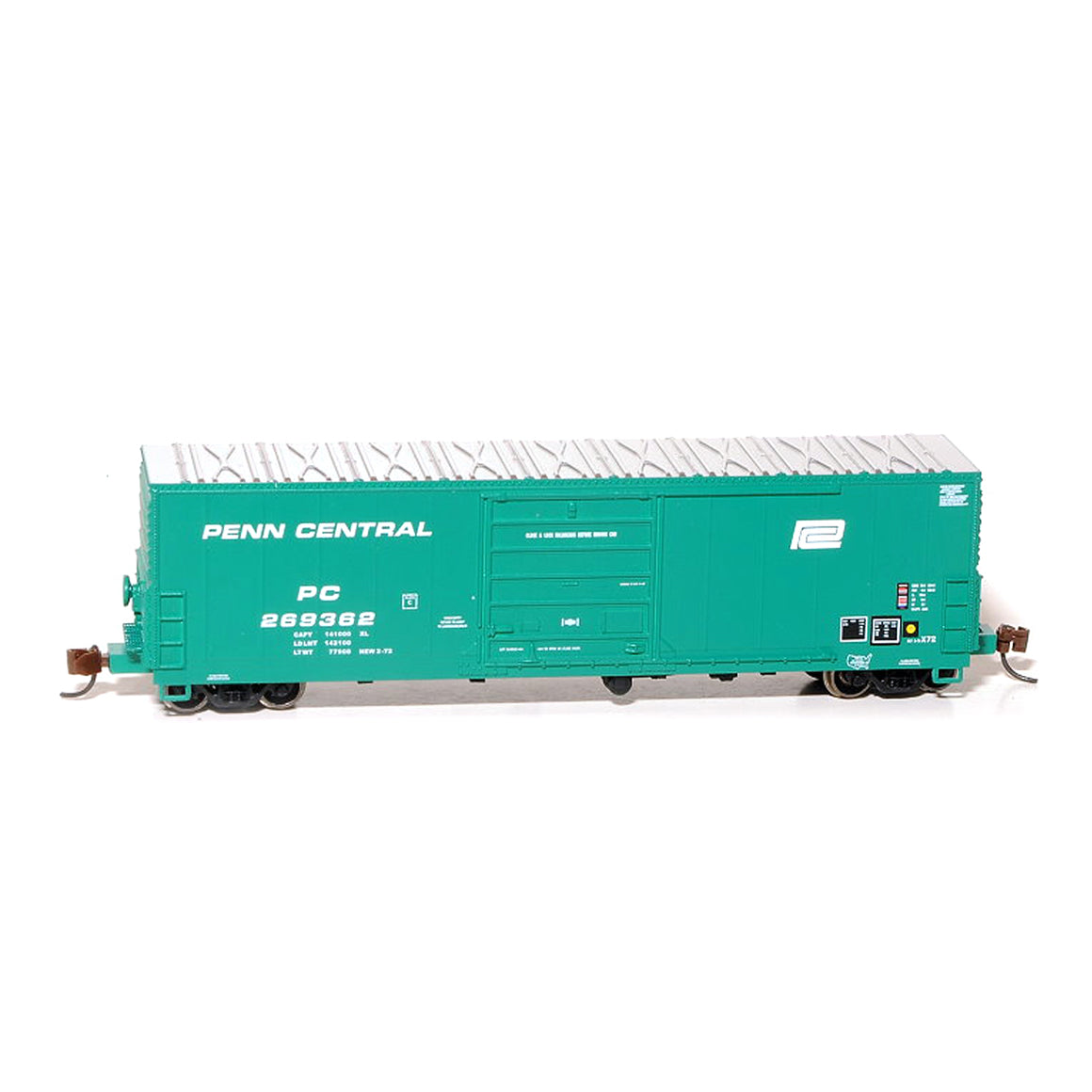 N Scale: USRE Class X72 Boxcar - Penn Central