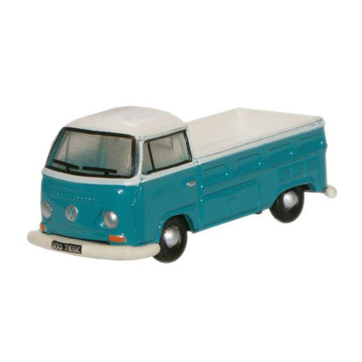 N Scale: Volkswagen Pickup - Emerald Green, Arcona White