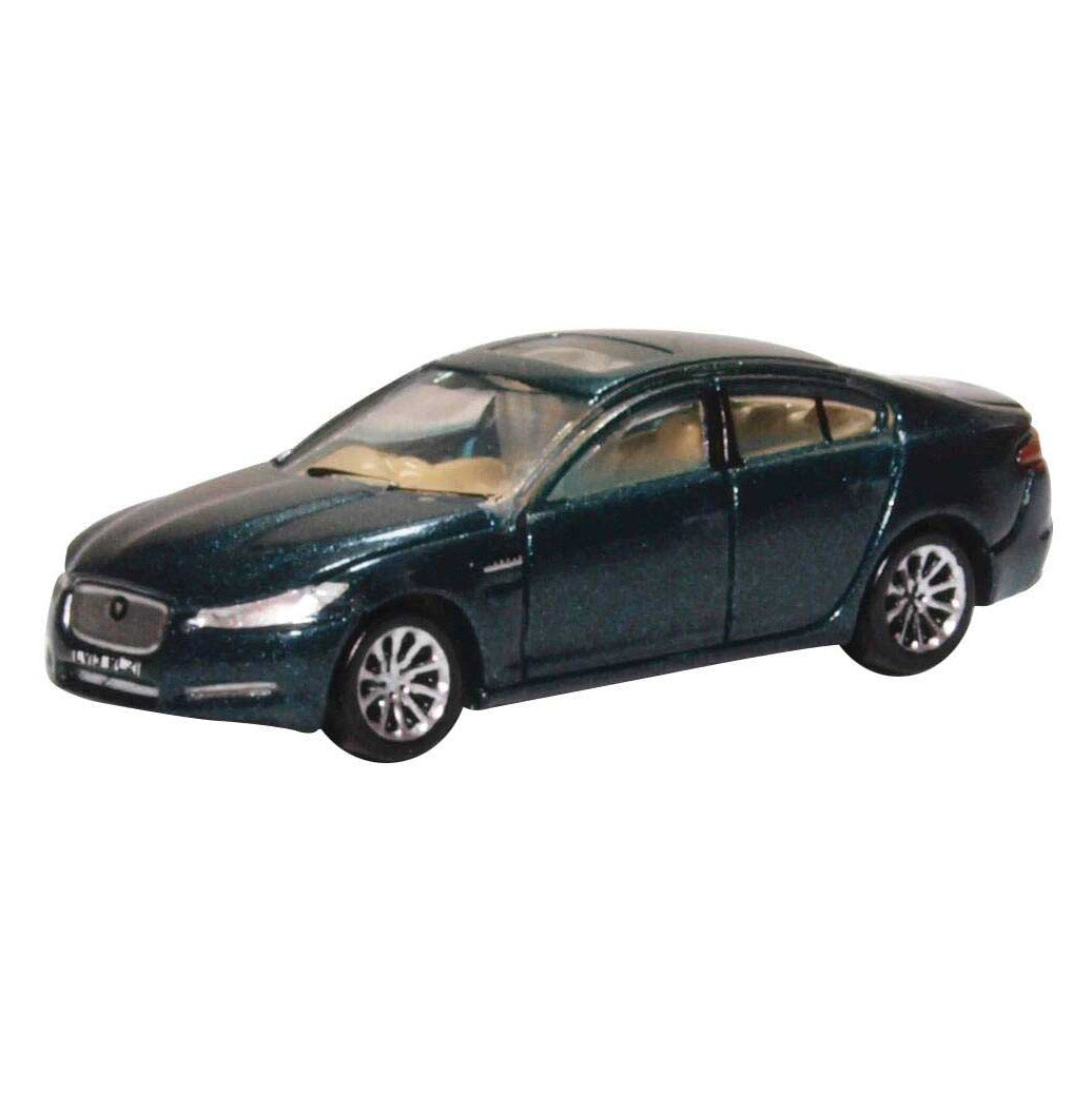 N Scale: 2015 Jaguar XF Sedan - British Racing Green
