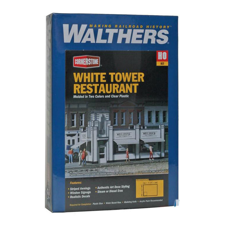 HO Scale: White Tower Restaurant - Kit