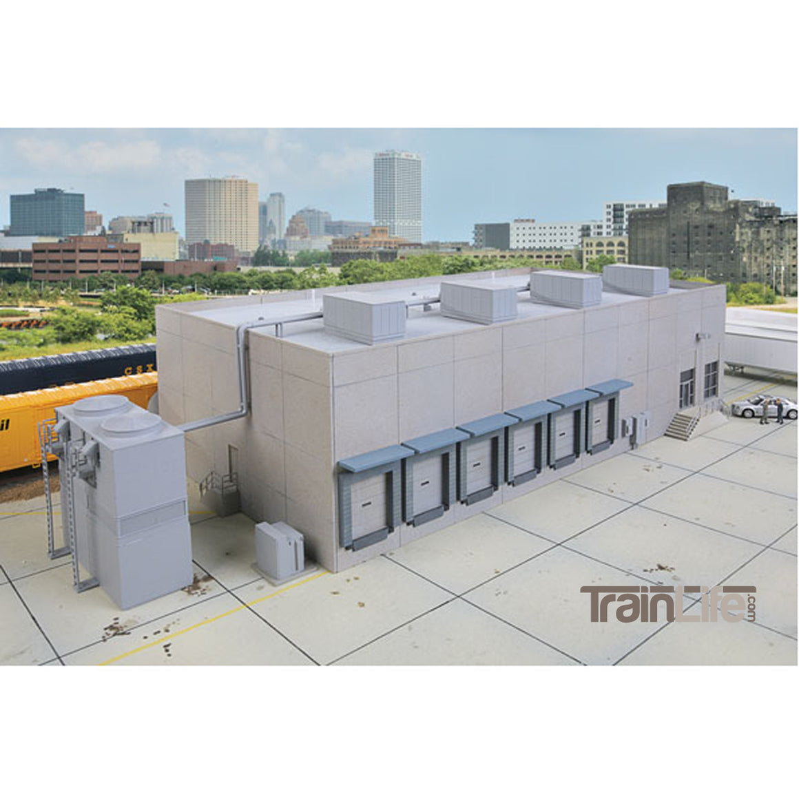 HO Scale: Modern Cold Storage Warehouse - Kit