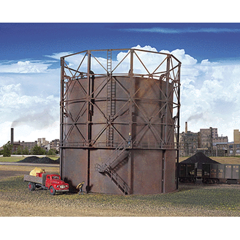 HO Scale: Gas Storage Tank