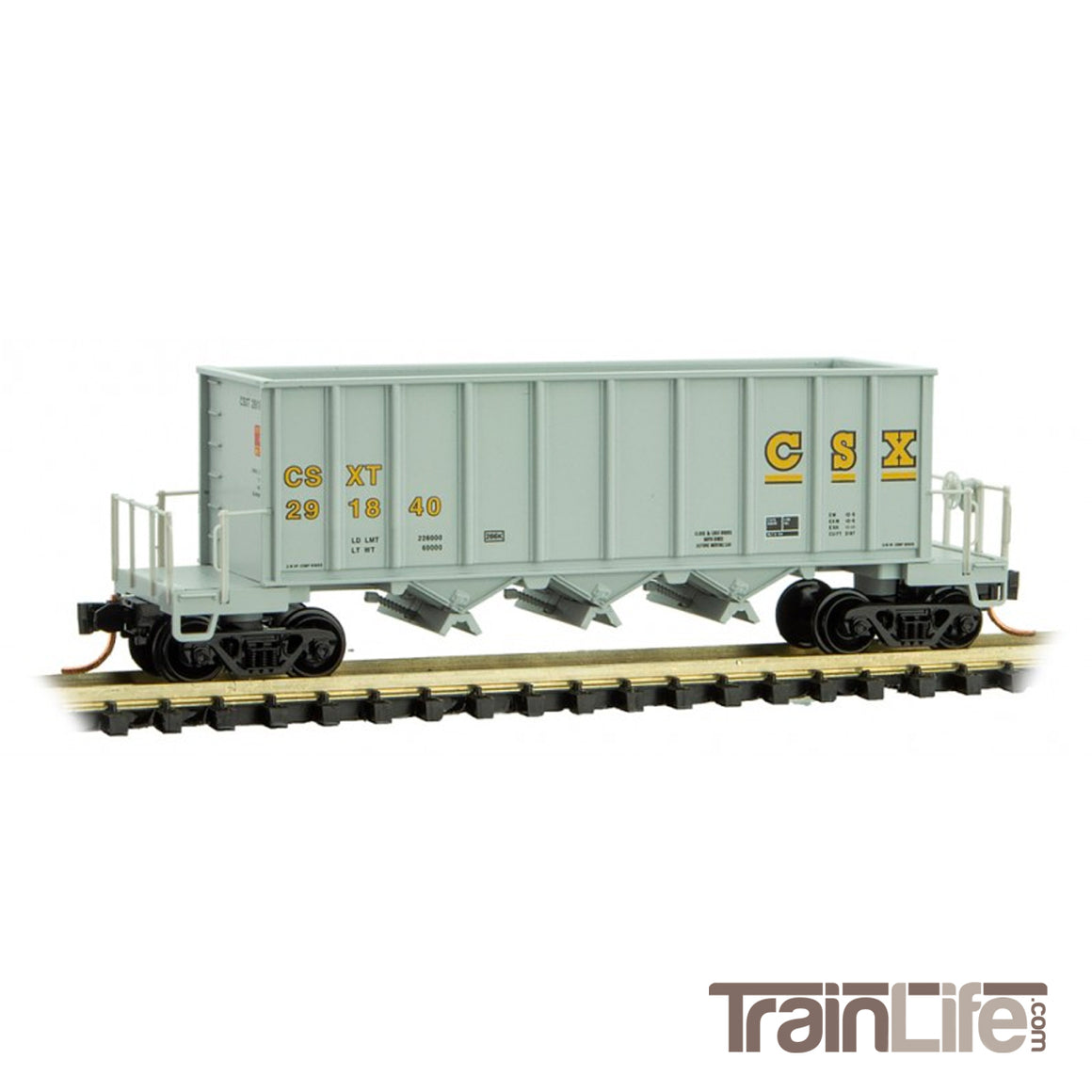 N Scale: 43' Rapid Discharge Hopper - CSXT
