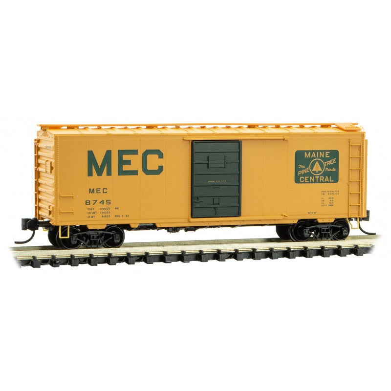 N Scale: 40' Standard Boxcar - Maine Central