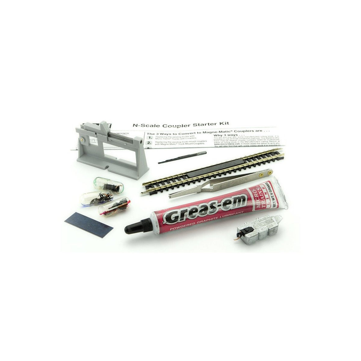 N Scale: Coupler Conversion Starter Kit