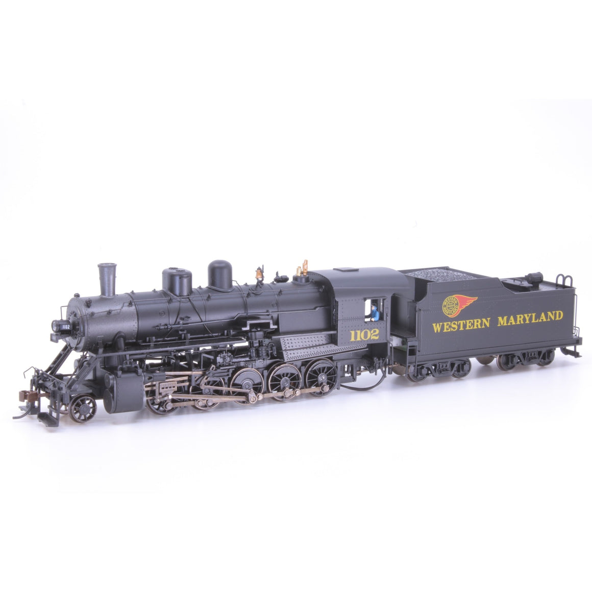 HO Scale: 2-10-0 Russian Decapod - DCC & Sound - Western Maryland