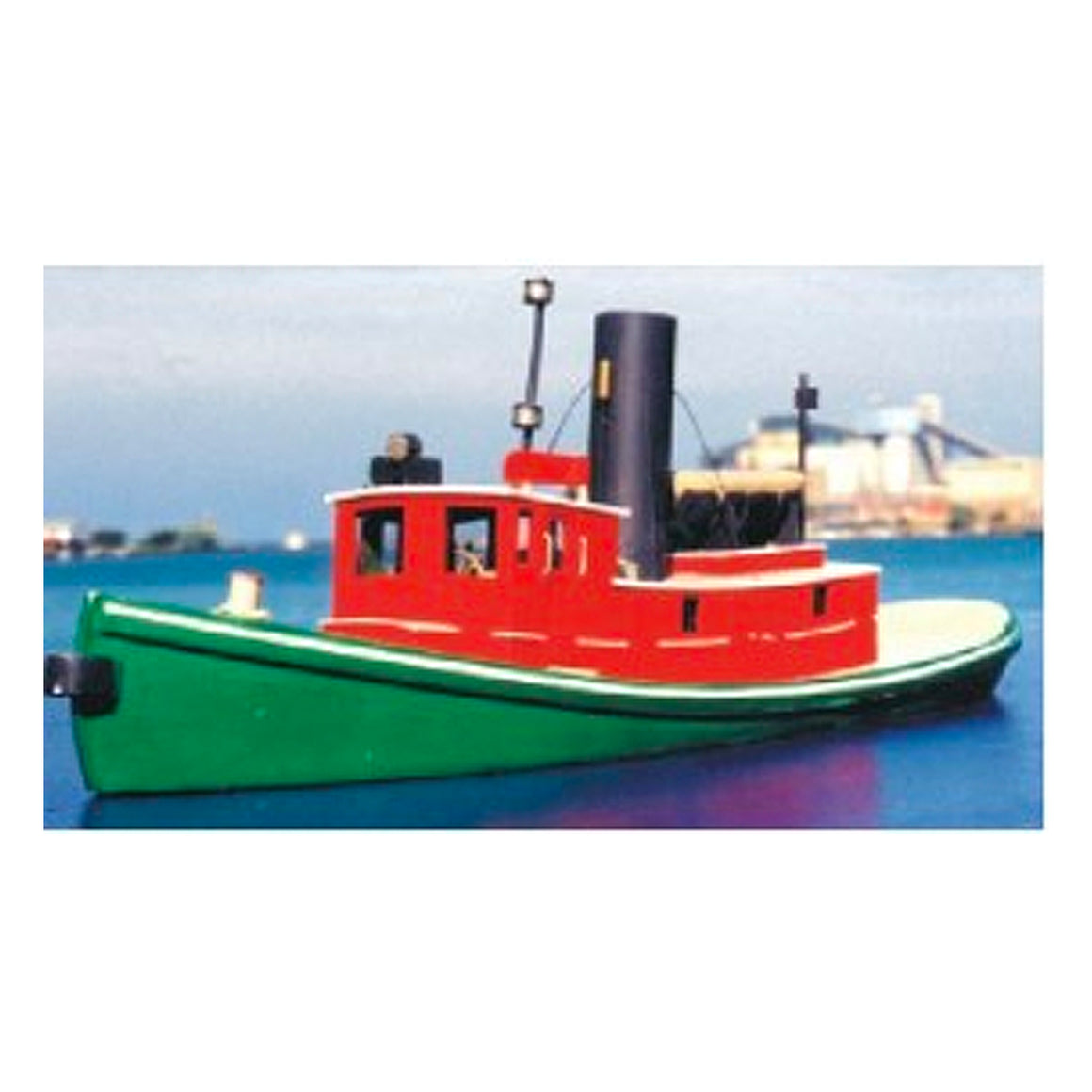 N Scale: Great Lakes Steam Tugboat - Kit