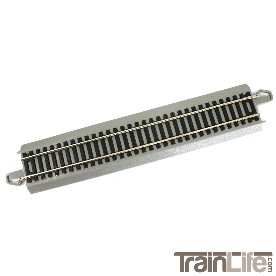 "HO Scale: Nickel Silver E-Z Track - 9"" Straight Sections"