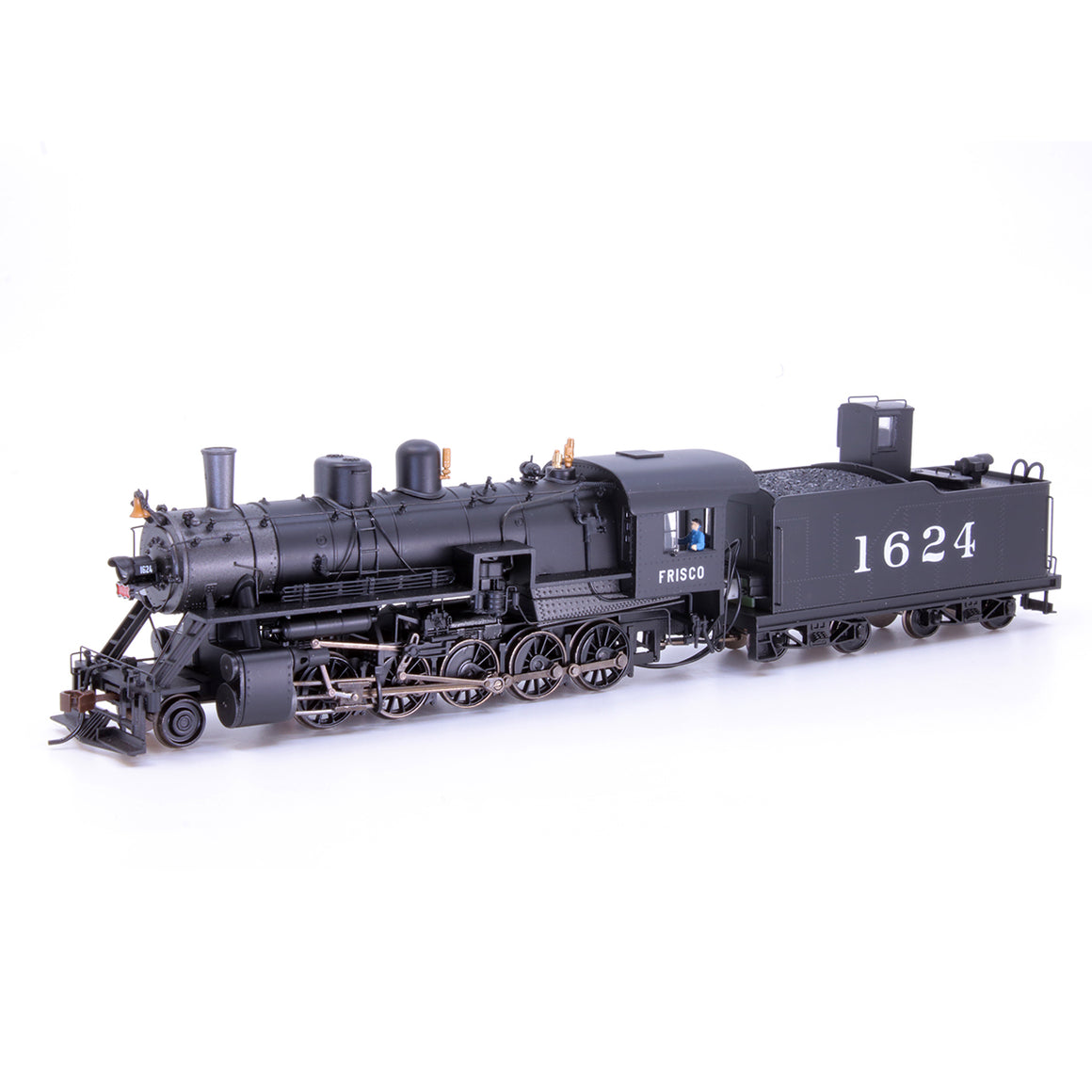 HO Scale: 2-10-0 Russian Decapod - DCC & Sound - Frisco 'w/ DogHouse