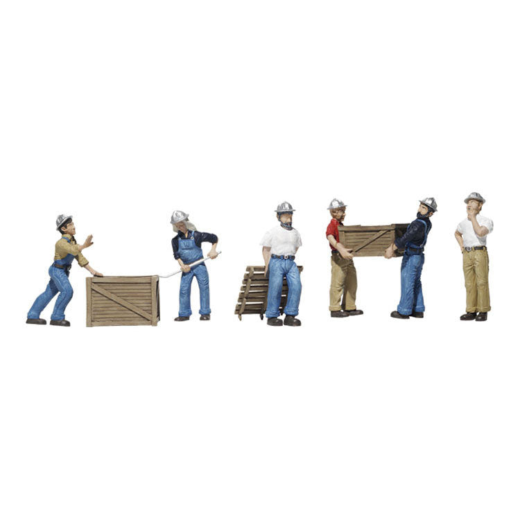 N Scale: Dock Workers