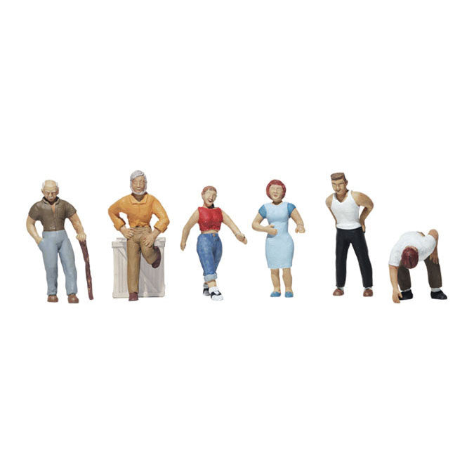 HO Scale: Ordinary People