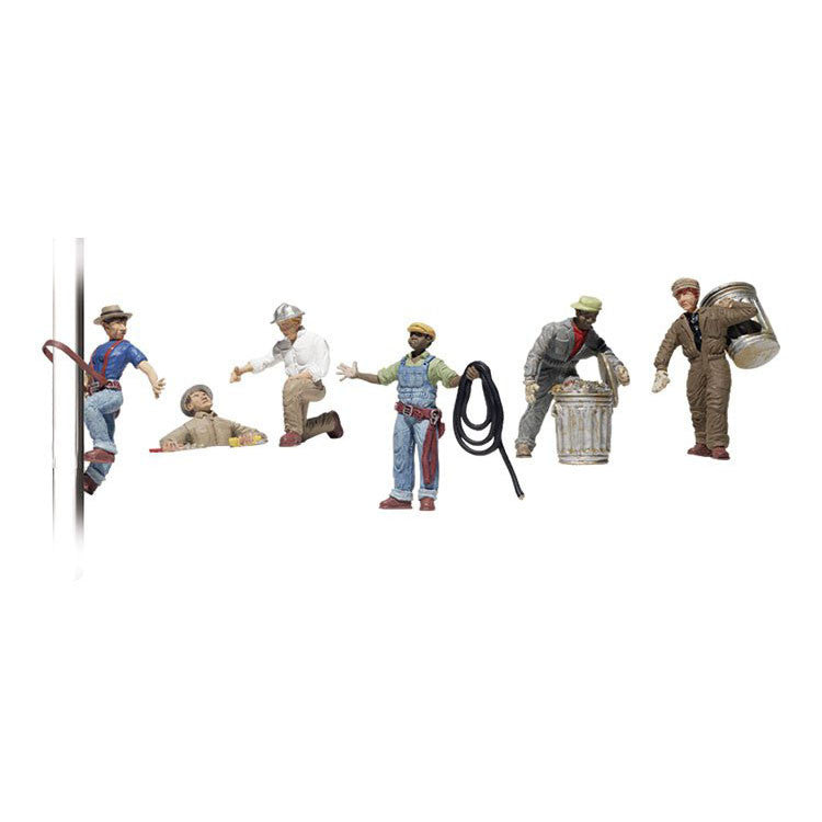 HO Scale: City Workers
