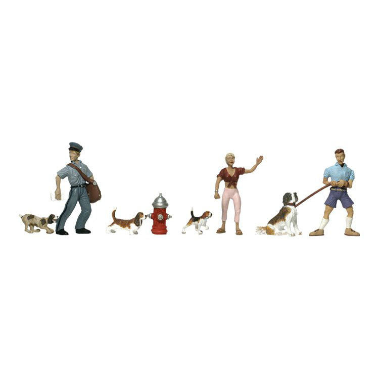 HO Scale: People & Pets