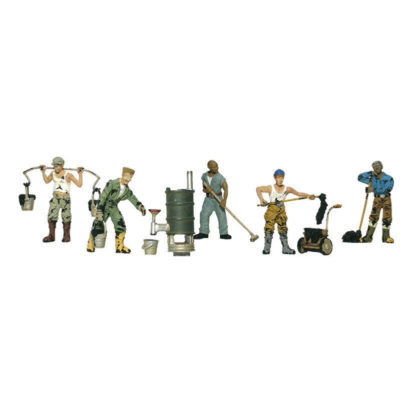 N Scale: Roofers