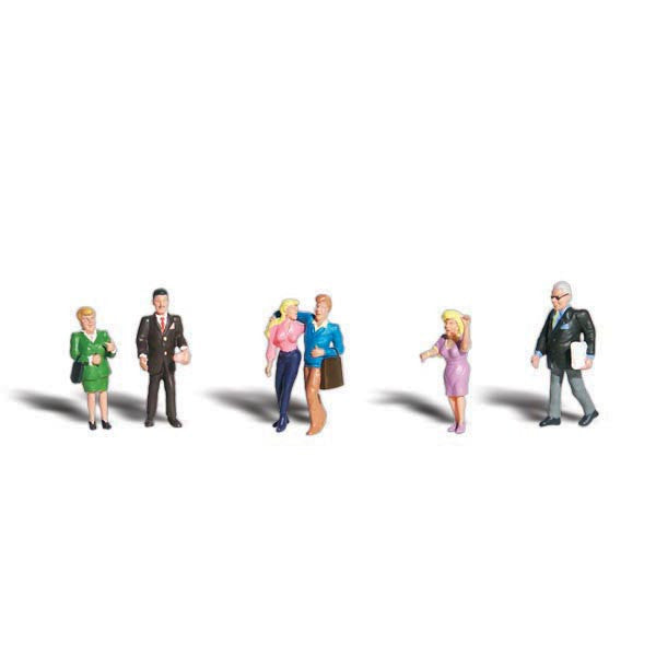 HO Scale: People Talking