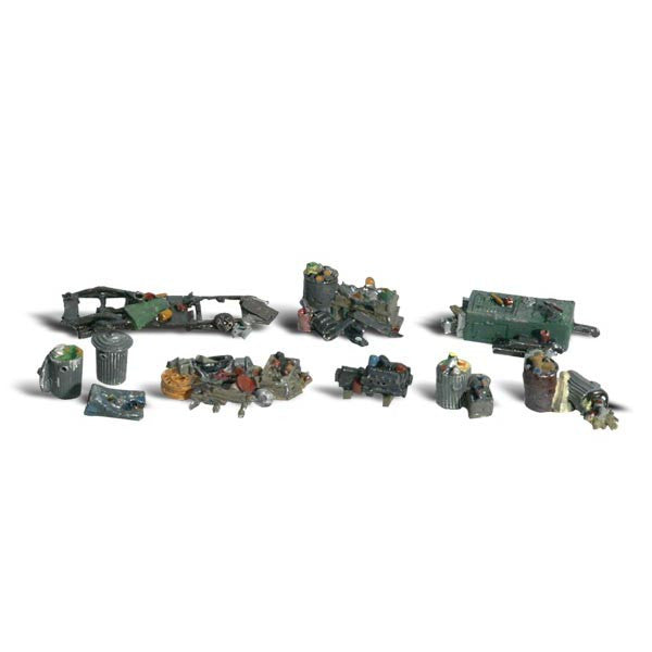 HO Scale: Assorted Junk