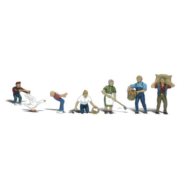 HO Scale: Farm People