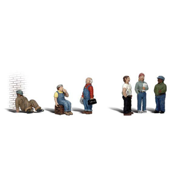 HO Scale: Factory Workers