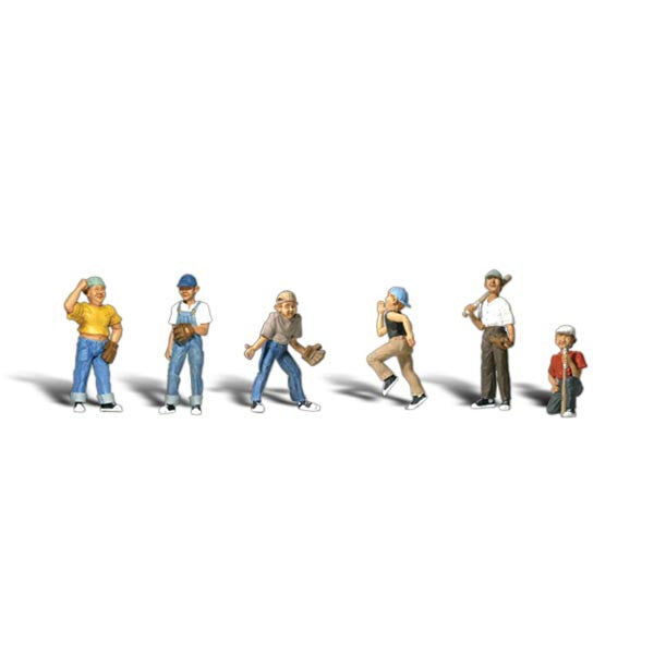 HO Scale: Baseball Players II
