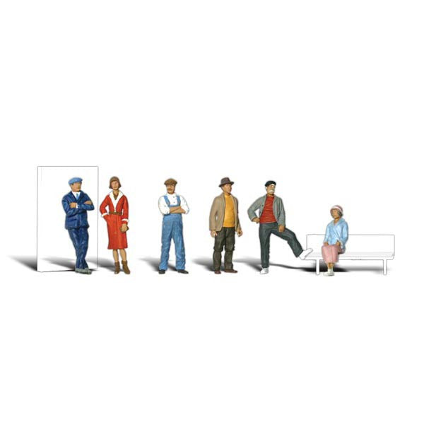 HO Scale: Casual People
