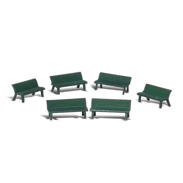 N Scale: Park Benches