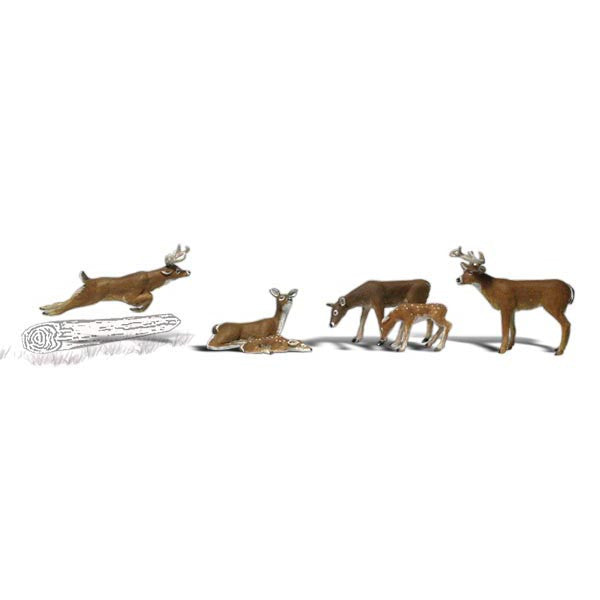 HO Scale: Deer