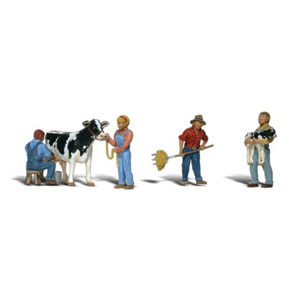 HO Scale: Dairy Farmers