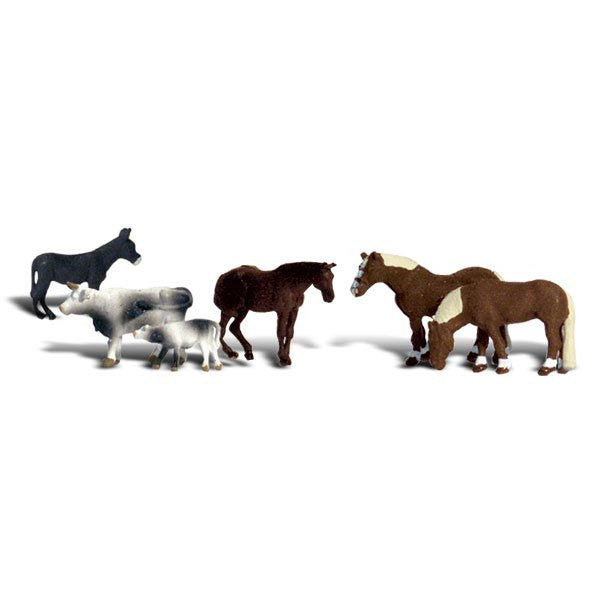 HO Scale: Farm Animals