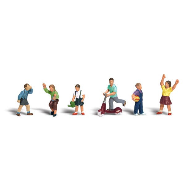 HO Scale: Children